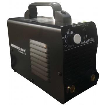 ARC-128 BLACK MINI INVERTER DC ARC WELDING MACHINE (1PH) 120A