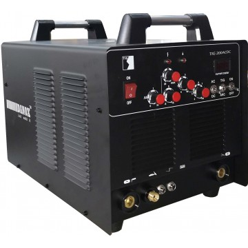 TIG-200ACDC INVERTER TIG PORTABLE WELDING MACHINE (1PH)