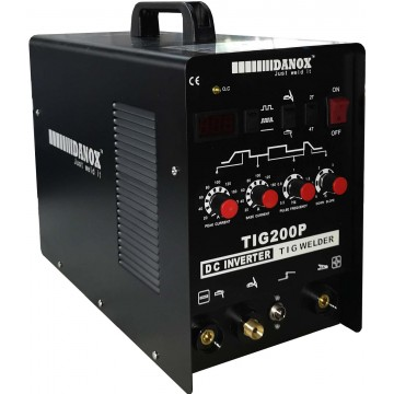 TIG-200P INVERTER TIG PORTABLE WELDING MACHINE 2T/4T (1PH)