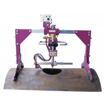 HK-600D AUTOMATIC TUBE PIPE HOLE FLAME CUTTER