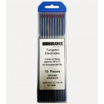 2% RED TIP TUNGSTEN ELECTRODE (10PC/BOX)