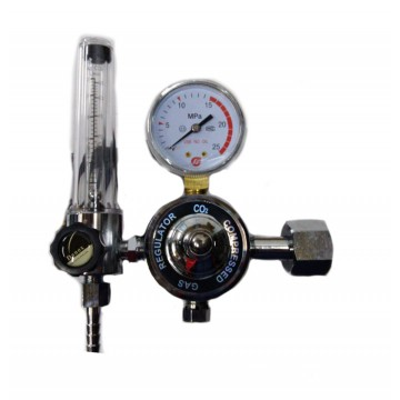 CO2 HEATER REGULATORS WITH FLOWMETER