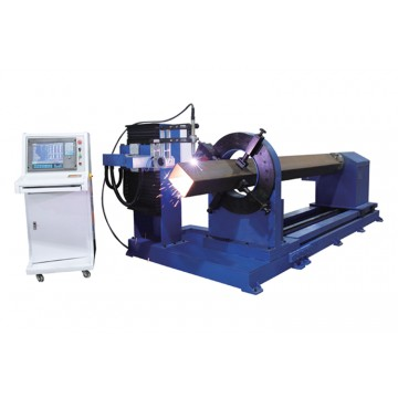 CNC intersecting pipe line cutting machine